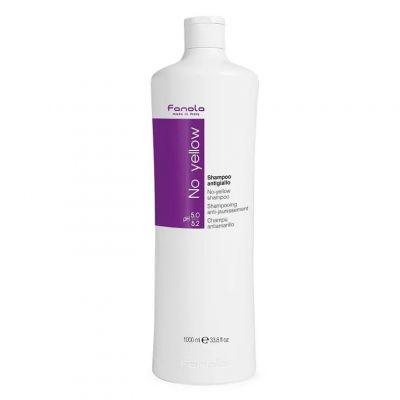 Fanola No Yellow Shampoo, szampon niwelujący żółte odcienie, 1000 ml