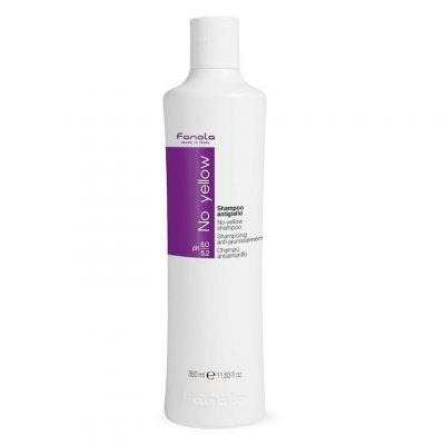 Fanola No Yellow Shampoo, szampon niwelujący żółte odcienie, 350 ml