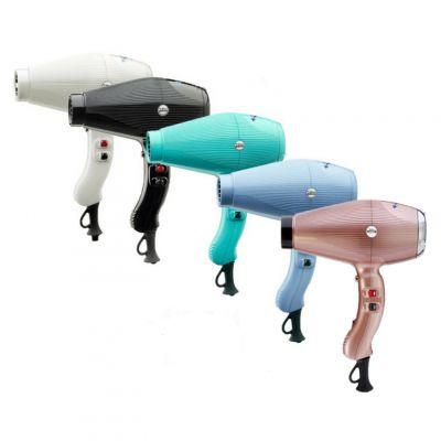 Gamma Più Aria Dual Ionic, profesjonalna suszarka z podwójną jonizacją do włosów w różnych odcieniach, 2200W