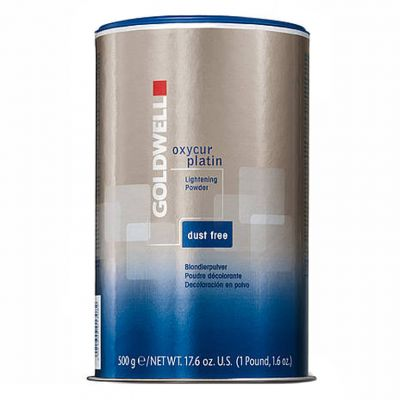 Goldwell Oxycur Platin, rozjaśniacz w proszku, dust-free, 500 g
