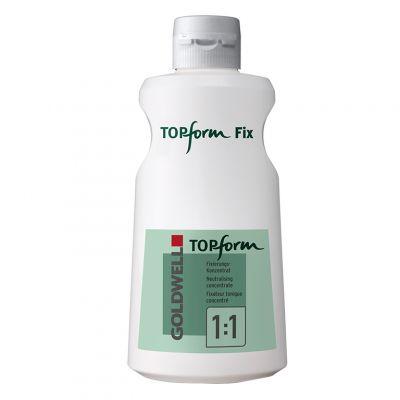 Goldwell Topform Fix, utrwalacz do trwałej, 1000 ml