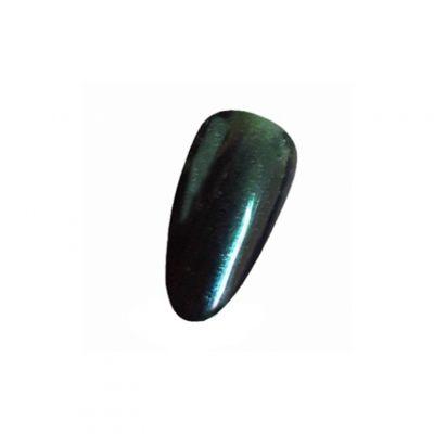 Chiodo ProSoft Mirror - Green Steel, drobny pyłek nadający paznokciom efekt lustrzanej, chromowanej powierzchni, 1 g