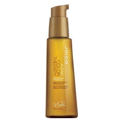 Joico K-Pak Color Therapy Styling Oil, olejek odbudowujący do włosów farbowanych, 100 ml