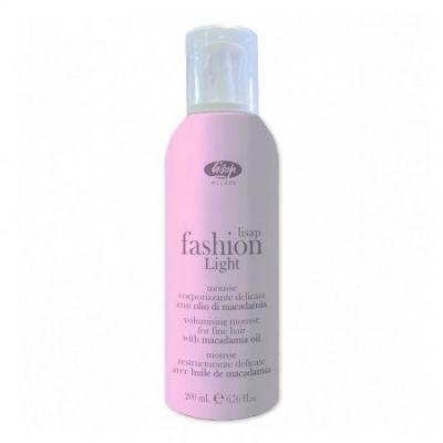 Lisap Fashion Light Volumizing Mousse, pianka nadająca objętość, 200 ml