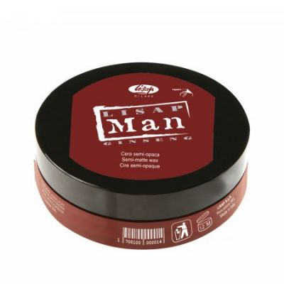 Lisap Man Semi-Matte Wax, półmatowy wosk, 100 ml