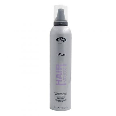Lisap High Tech Strong Volumising Mousse, pianka do włosów, 300 ml