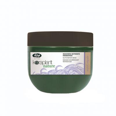 Lisap Keraplant Nutri Repair Mask, odżywczo-regenerująca maska, 500 ml