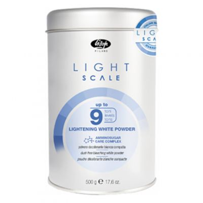 Lisap Light Scale, rozjaśniacz w proszku do 9 tonów, 500 g