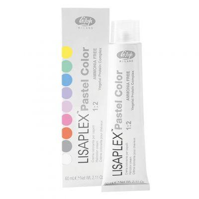 Lisap LISAPLEX Pastel Color, bezamoniakalna farba do włosów, 60 ml