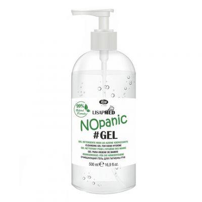 Lisap Lisapmed NoPanic Gel, antybakteryjny żel do mycia rąk, 500 ml