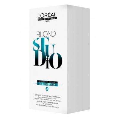 Loreal Blond Studio Majimeches, krem rozjaśniający w saszetkach, 6 x 25 g