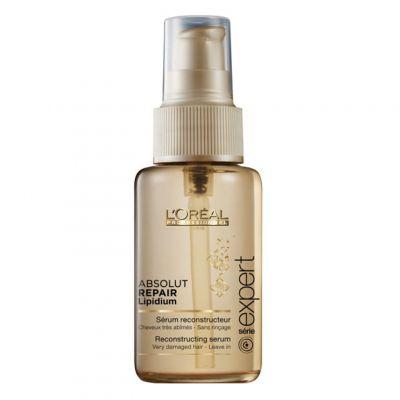 Loreal Expert Absolut Repair Lipidium, rekonstruujące serum do włosów uwrażliwionych, 50 ml