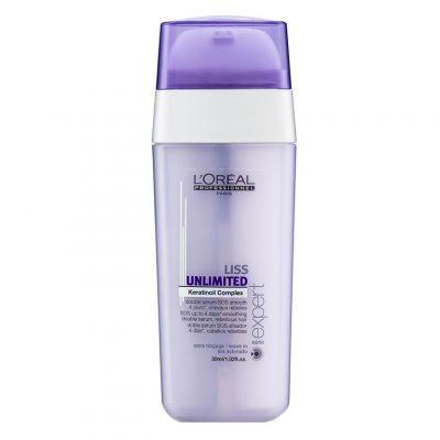 Loreal Expert Liss Unlimited, podwójne serum wygładzające, 30 ml