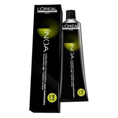 Loreal Inoa, kremowa farba do włosów bez amoniaku, 60 g