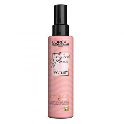 Loreal Tecni Art Hollywood Waves Sweetheart Curls, serum w spray'u do lekkich loków, 150 ml