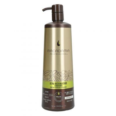 Macadamia Professional Ultra Rich Moisture, nawilżająca odżywka do włosów bardzo grubych, 1000ml