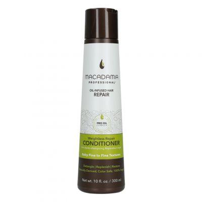 Macadamia Professional Weightless Moisture Conditioner, nawilżająca odżywka do włosów cienkich, 300ml