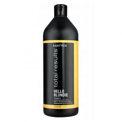Matrix Total Results Hello Blondie, odżywka do pielęgnacji włosów blond, 1000 ml