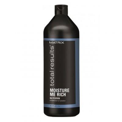 Matrix Moisture Me Rich, odżywka nawilżająca, 1000 ml