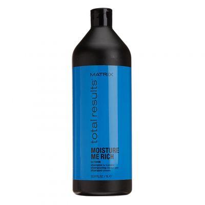 Matrix Moisture Me Rich, szampon nawilżający, 1000 ml