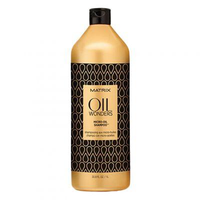 Matrix Oil Wonders Micro-Oil, delikatny szampon z olejkiem arganowym, 1000 ml