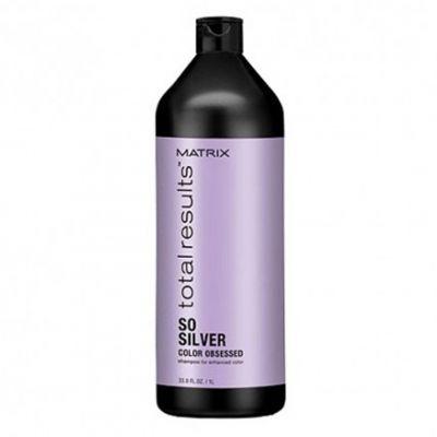 Matrix So Silver, szampon do włosów siwych, 1000 ml