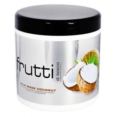 Maxx Frutti di Bosco, rewitalizująca maska do włosów z proteinami mleka, kokosowa, 1000 ml