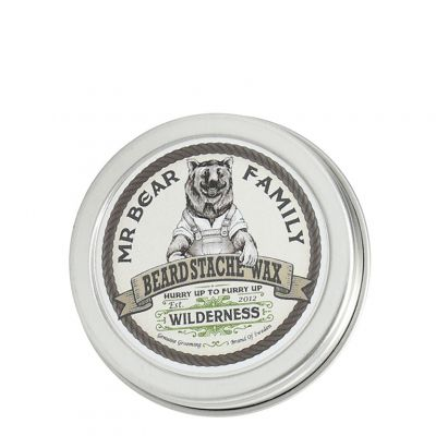 Mr. Bear Family Beard Stache Wax Wilderness, wosk do wąsów i brody, 30ml