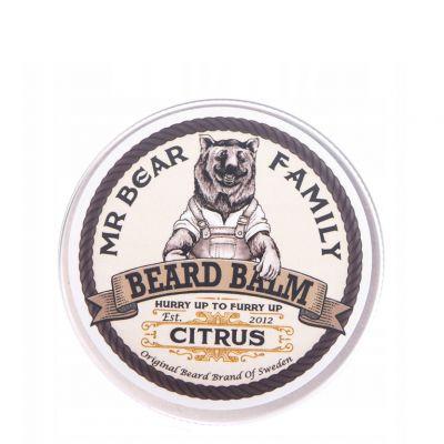 Mr. Bear Family Beard Balm Citrus, cytrusowy balsam do brody, 60ml