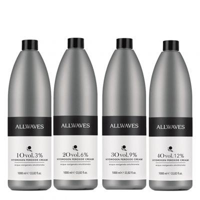 Allwaves, oxydant w kremie, 1000 ml