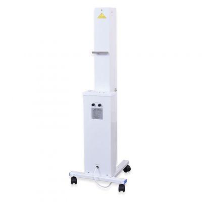 Profesjonalna mobilna lampa z promieniowaniem UV-C o długości fali 253,7 nm