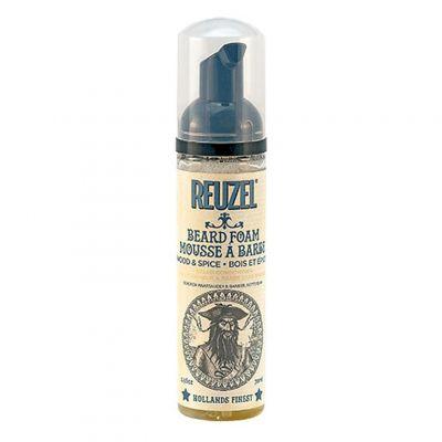 Reuzel Beard Foam, odżywka do brody w piance, Wood&Spice, 70 ml