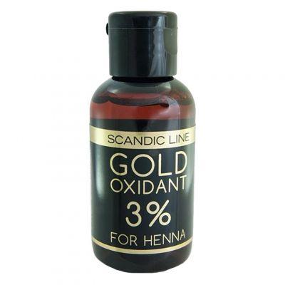 Scandic Line, oksydant do henny 3%, 15 ml