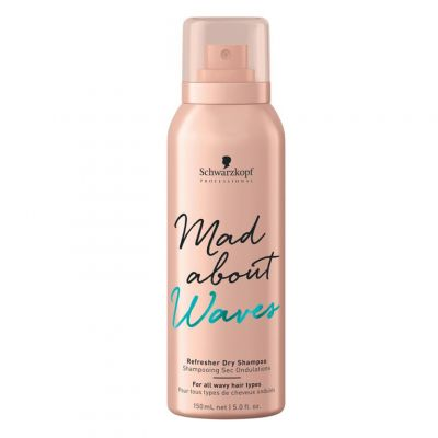 Schwarzkopf Mad About Waves Dry Shampoo, suchy szampon do włosów falowanych, 150 ml