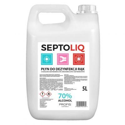 Septoliq, płyn do dezynfekcji rąk, 5000 ml