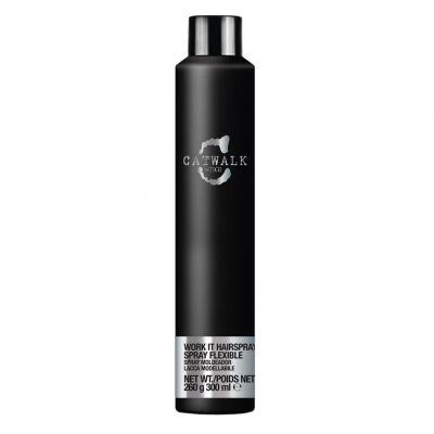 Tigi Catwalk Session Series Work It Hairspray, lakier do włosów, 300 ml