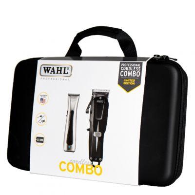 Wahl, zestaw maszynek, bezprzewodowa maszynka Wahl Super Taper Cordless + bezprzewodowy trymer Wahl Beret  + walizka