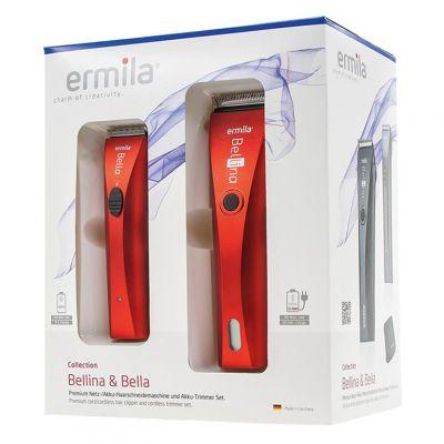 Zestaw Ermila Bellina&Bella, profesjonalna maszynka i trymer do włosów