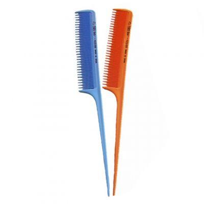 Eurostil 423, profesjonalny grzebień fryzjerski w różnych kolorach
