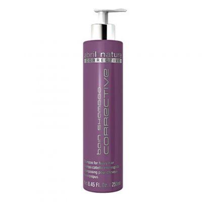 Abril et Nature Bain Shampoo Corrective, wygładzający szampon z komórkami macierzystymi, 250 ml