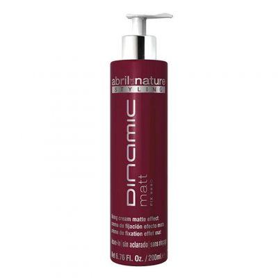 Abril et Nature Dinamic Cream Matt, matowy krem do modelowania włosów, 200 ml
