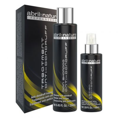 Abril Et Nature Fepean 2000 Treatment Anti-Dandruff, szampon + lotion przeciwłupieżowy, 250 ml + 100 ml