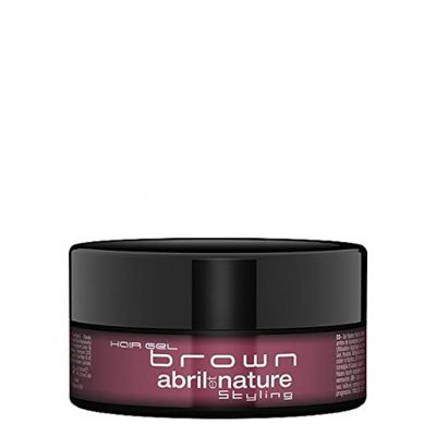 Abril et Nature Hair Gel Brown, brązowy żel do włosów, 150 ml