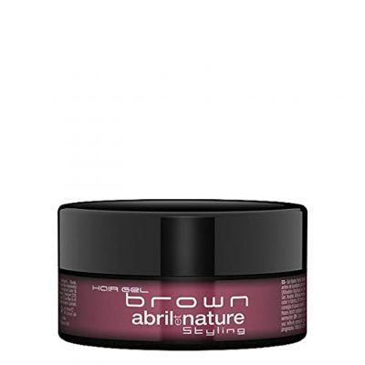Abril et Nature Hair Gel Brown, brązowy żel do włosów, 150 ml