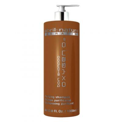 Abril et Nature Keratin Bain Shampoo, szampon keratynowy, 1000 ml