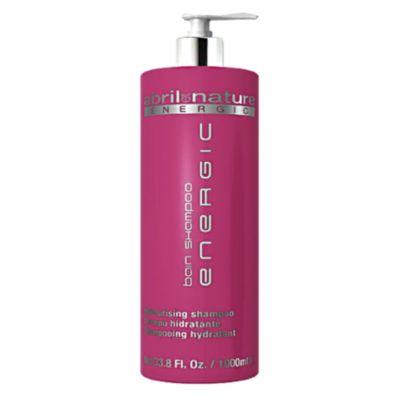 Abril et Nature Energic Shampoo, energetyzujący szampon do włosów osłabionych, 1000 ml