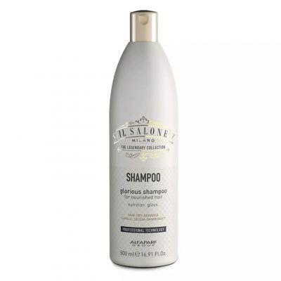 Alfaparf Il Salone Glourious, szampon do włosów suchych i zniszczonych, 500 ml