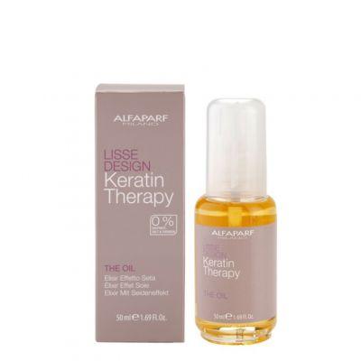 Alfaparf Lisse Design, olejek do włosów, 50 ml