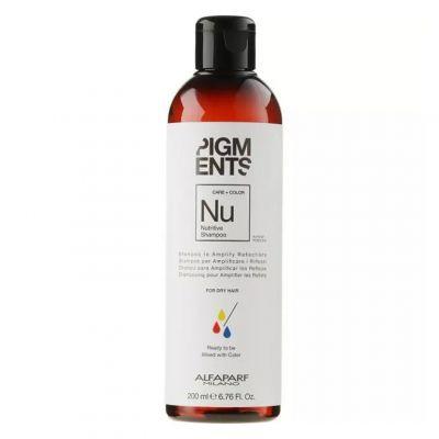 Alfaparf Pigments, szampon do włosów suchych, 200 ml