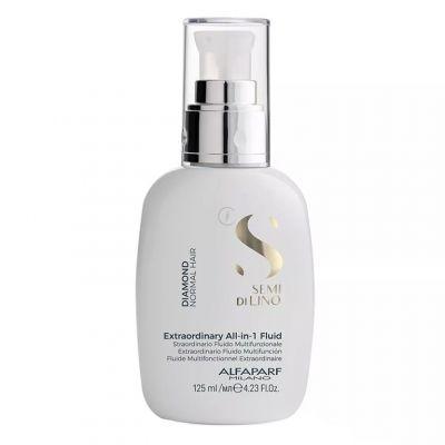 Alfaparf Semi Di Lino Extraordinary All-In-1, rozświetlający fluid do włosów, 125 ml